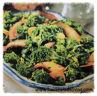 Sauteed Broccoli Rabe Recipe | tummy.teasers | Pinterest