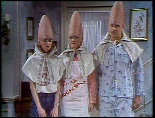 cone heads!