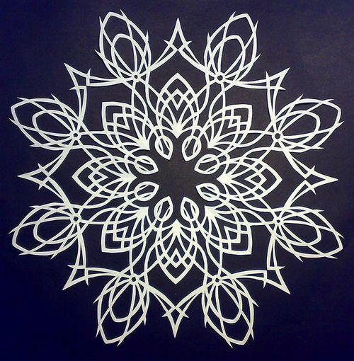 Christmas-craft-ideas-paper-snowflakes-video-tutorial-make-handmade ...