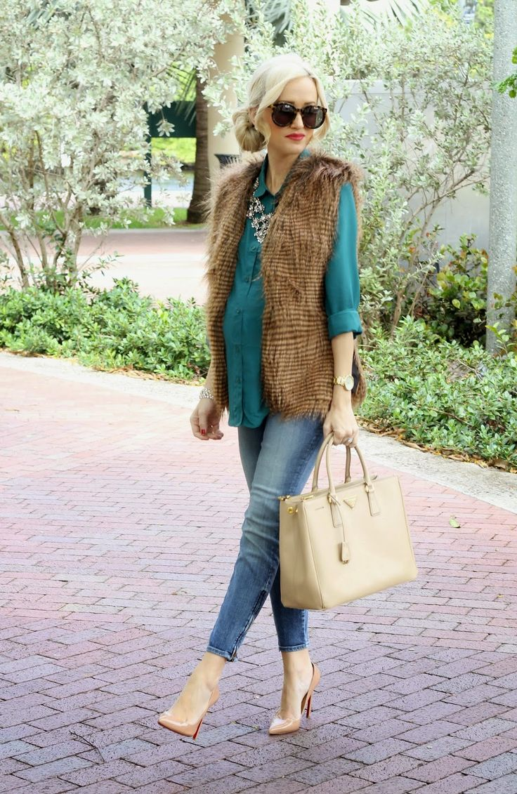 A Spoonful of Style: Emerald and Faux Fur...