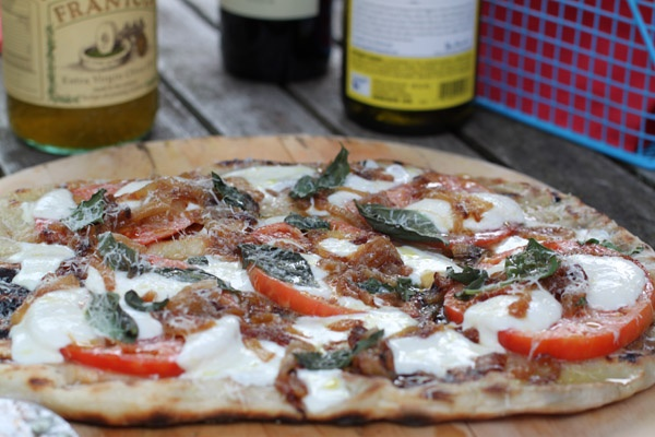 pizza on the grill | HEALTHY FOOD | Pinterest