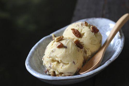 Butterscotch Pecan Ice Cream   Guilty pleasures...yummmmmm   Pinterest