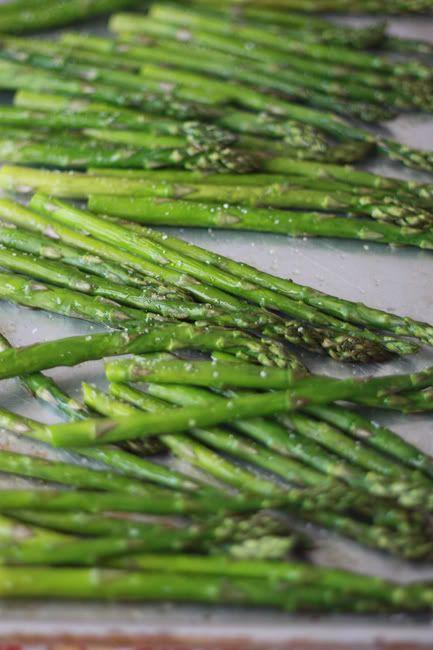 simple roasted asparagus | Yummies! | Pinterest