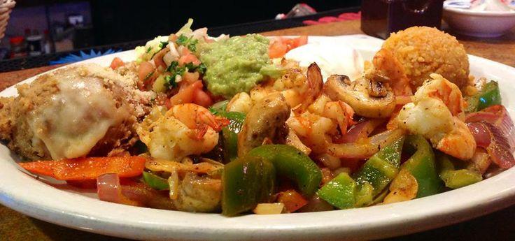 Shrimp Fajitas! | LUIS Jr's Mexican Food And Spirits | Pinterest
