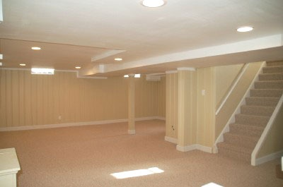 painted wood paneling and new carpet home decor pinterest