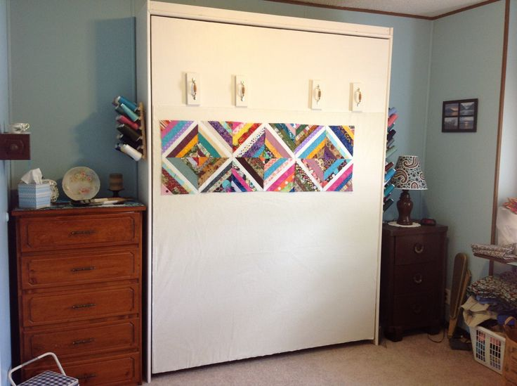 Murphy Bed Design Wall Quilting Room Design Wall