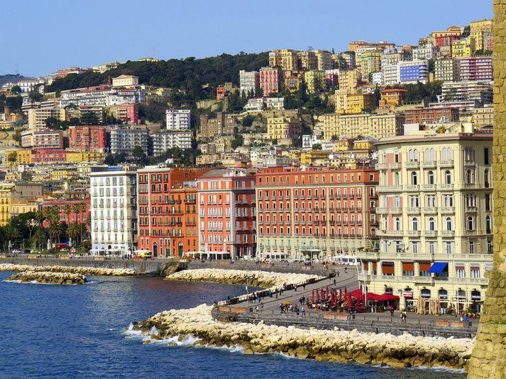 Napoli, lungomare Caracciolo | Italy: Campania, Naples | Pinterest