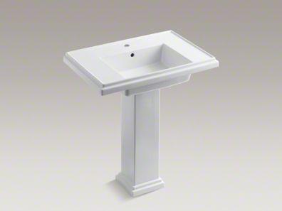 Tresham Pedestal Sink : Kohler Tresham Pedestal sink - 30