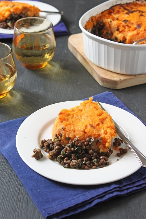 vegetarian shepherd's pie | sugar and spice... | Pinterest