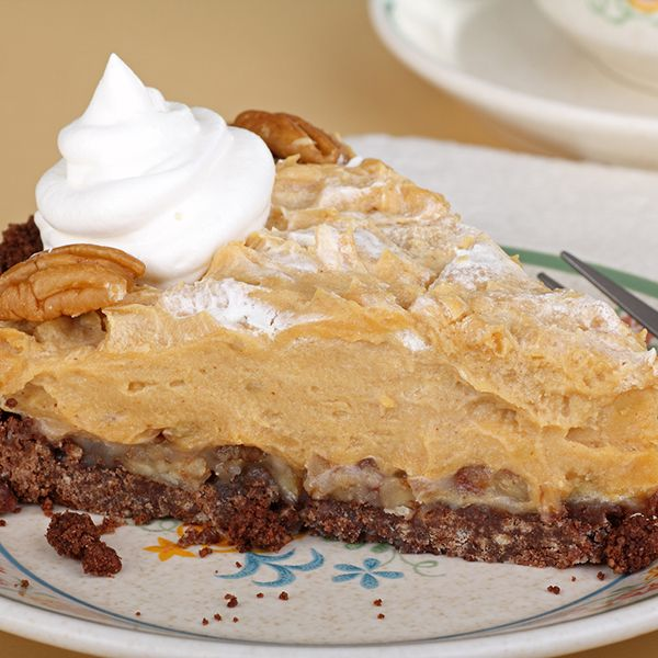 pie recipe made on a delicious pecan crust no bake peanut butter pie ...