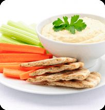 Raw Cashew Hummus | appetizer | Pinterest