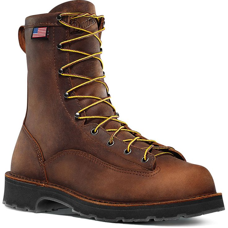 15548 danner s bull run 8 quot safety boots brown