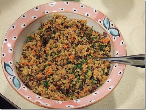 Speedy Quinoa Azuki Salad | food | Pinterest