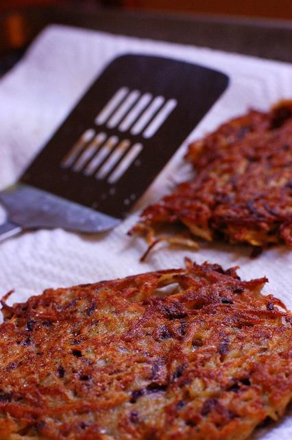 adrian's recipe for root veg pancakes