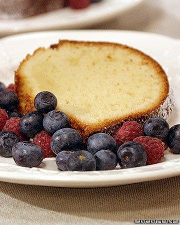 Cream Cheese Pound Cake with David | Recipe