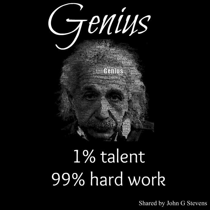 how to become genius like einstein