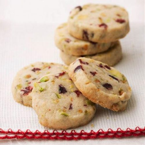 Pistachio Cranberry Icebox Cookies | Sweets for the Sweet | Pinterest