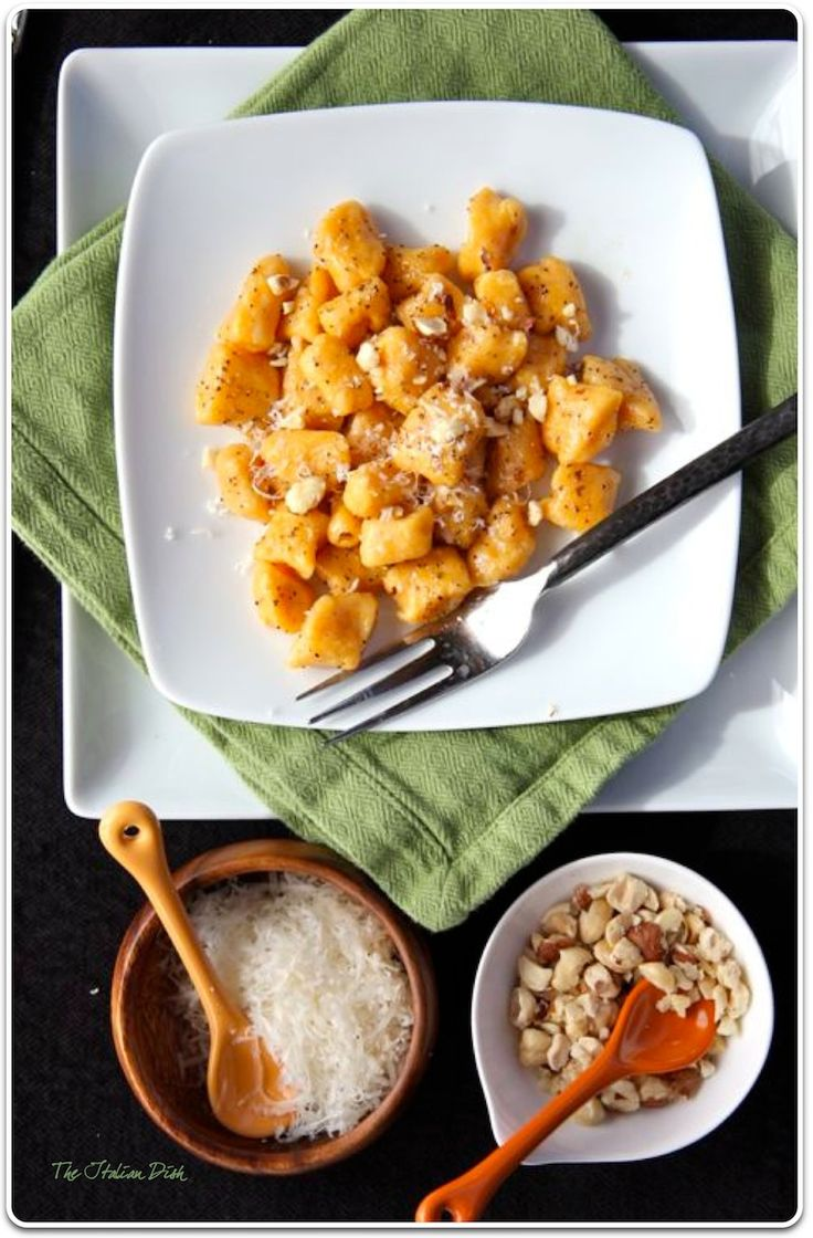 ... much anything here. This one happens to be sweet potato gnocchi
