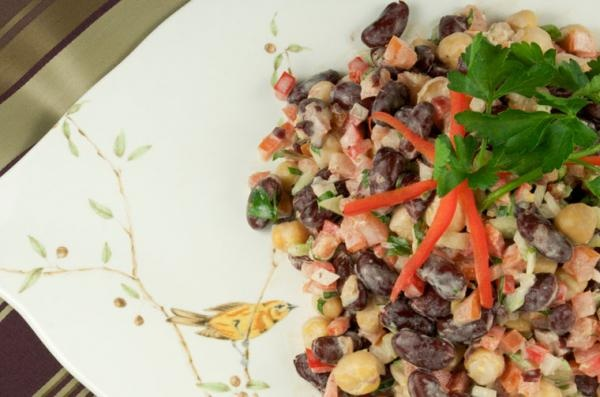 Kidney Bean Salad | Foods for the Daniel's Fast | Pinterest