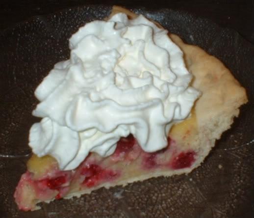 Raspberry Custard Pie | Desserts | Pinterest