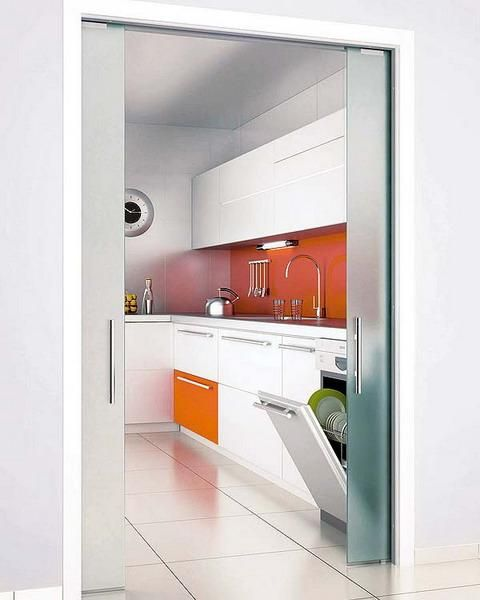 22 space saving sliding interior doors for spacious and for Space saving interior designs