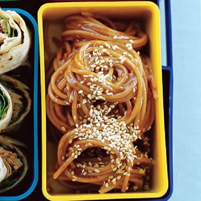 Cold Ginger, Soy and Honey Sesame Noodles | Recipe