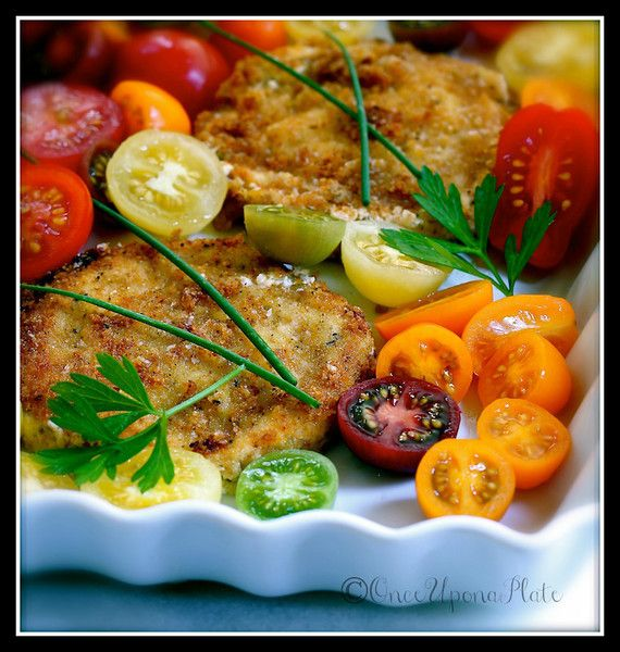 ... Herbed Chevre with Heirloom Tomatoes ~ PLUS Easy Herb Batter Bread