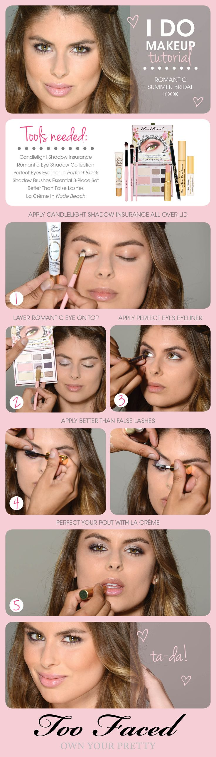 Wedding season is still in full swing and whether you plan to put a ring on it or just join the happy couple in celebration, you'll want a fab look. Try this easy step-by-step tutorial by the talented Daniel Chinchilla-Beauty Expert! #Toofaced
