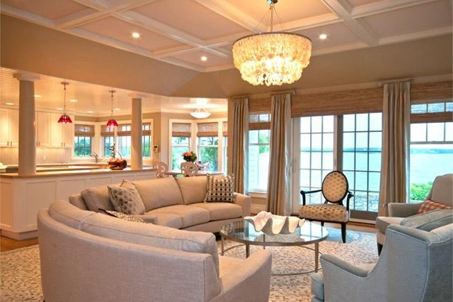 Cape Cod living room  etc.  Pinterest