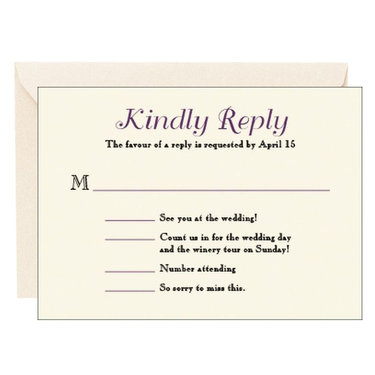 Response card wedding ideas pinterest for Rsvp card ideas