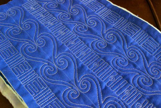 Free Motion Quilting Patterns Pinterest : Free Motion Quilting Tutorial Long arm quilting designs Pinterest