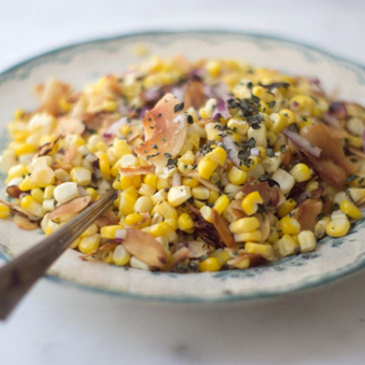 Coconut Corn Salad Recipe | Salad Recipes | Pinterest