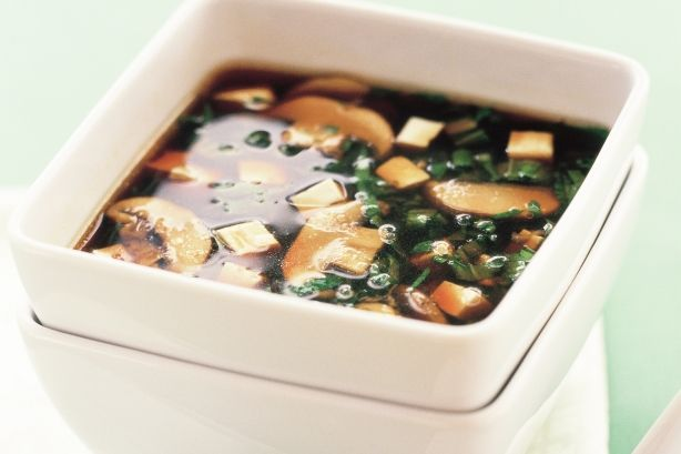 Tofu and mushroom miso | Soup, Stew, and Chili For All | Pinterest