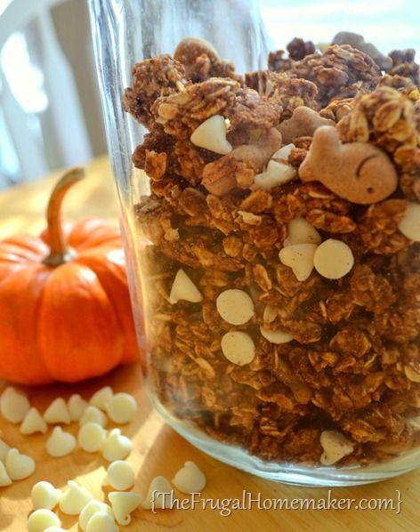 Pumpkin Pie Granola | Recipe