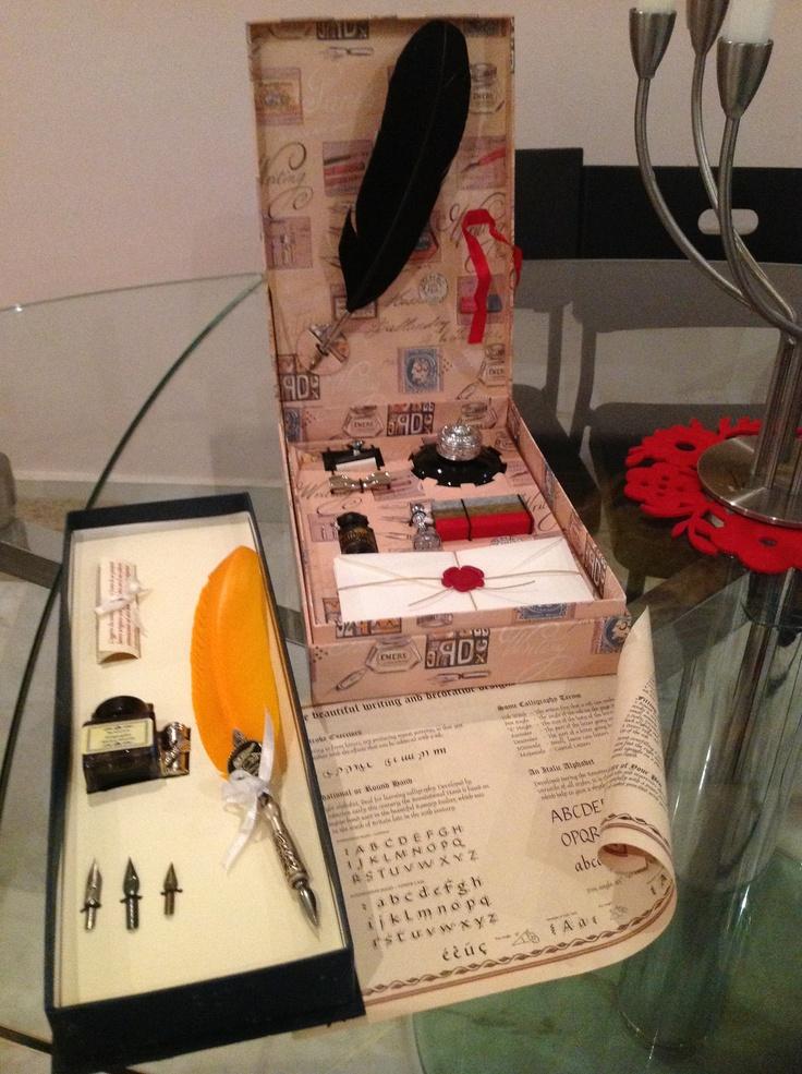 Dip pen calligraphy set | Lettering (caligrafía) | Pinterest