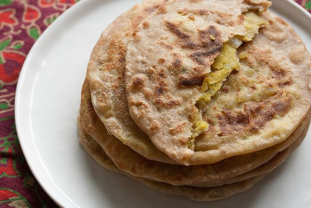 Aloo Parathas (Indian Potato Flatbreads) by Isabelle @ Crumb, via ...
