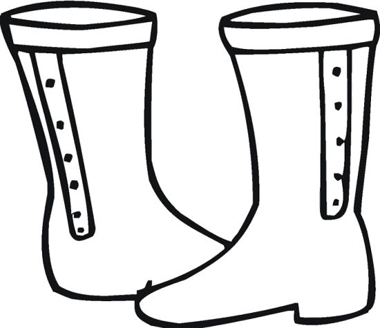 Winter boots free coloring pages for Winter boots coloring pages