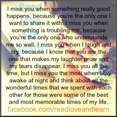miss you so very much... | Pintastic | Pinterest