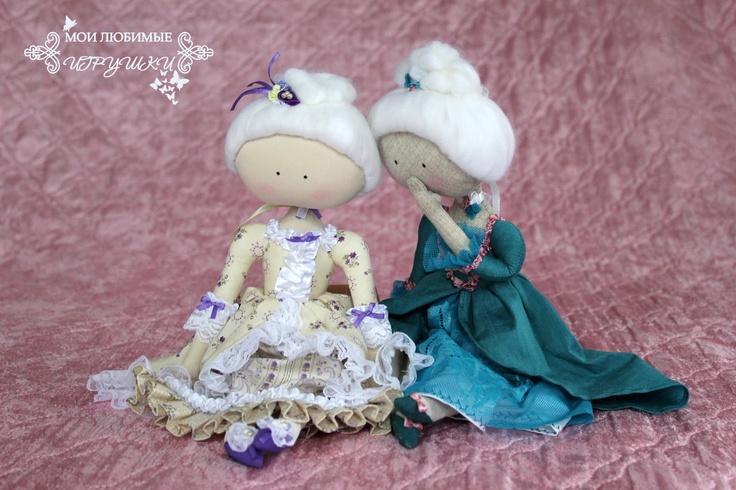 Куколки-сплетницы, cloth doll