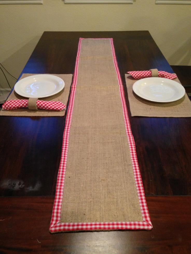Pinterest for 12 ft table runner