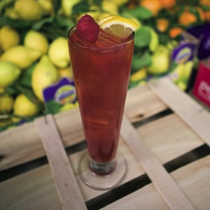 Raspberry & Earl Grey iced tea | There Goes My Diet! | Pinterest