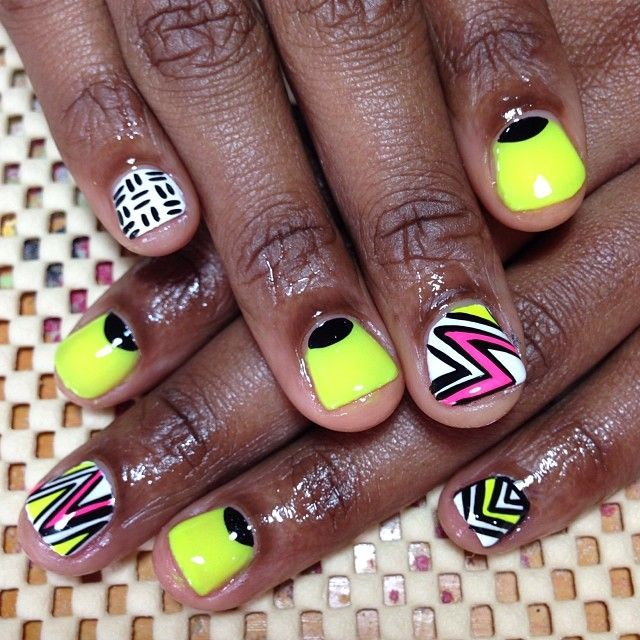 Gel manicure..vacation nails | Nails | Pinterest