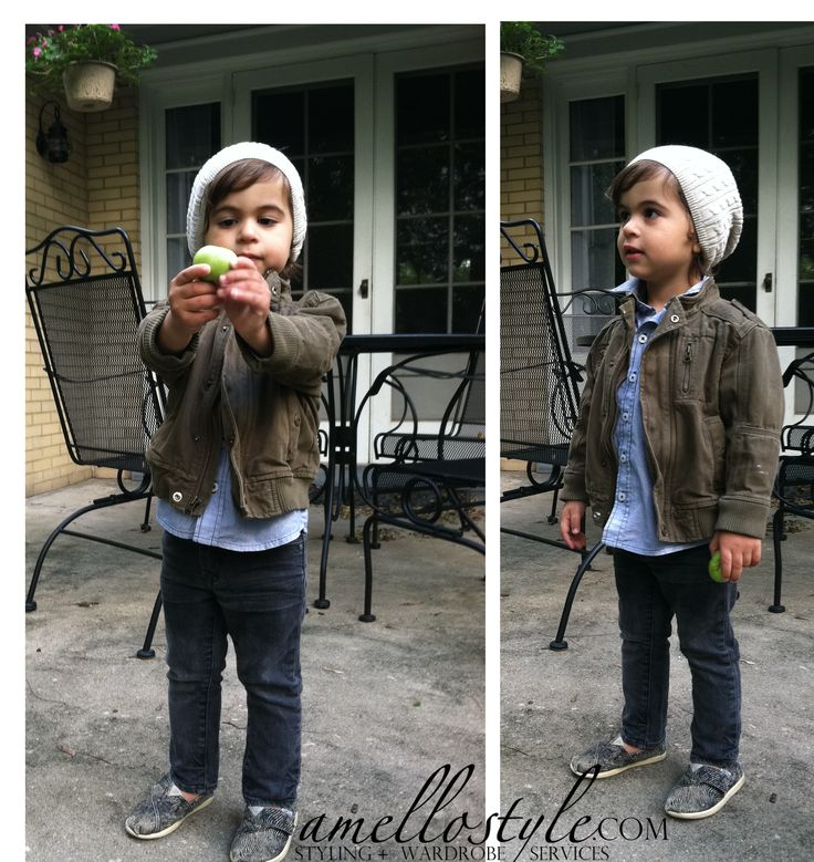 mini hipster, little man with style