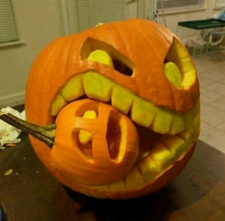 pumpkin carving cool stuff craft pinterest