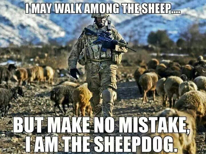 essay on sheep wolves and sheepdogs Ltc grossman's story of sheep, wolves, and sheepdogs is something of a classic  essay for military and police men when i was younger, i was.