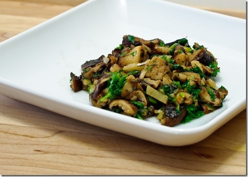 garlic & parsley mushrooms | parsley | Pinterest