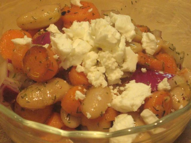 Kate's Kitchen: Carrot, Dill and White Bean Salad