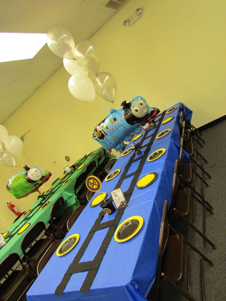 Thomas The Tank Engine Birthday Party Ideas Thomas Free