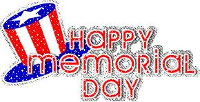 happy memorial day logos