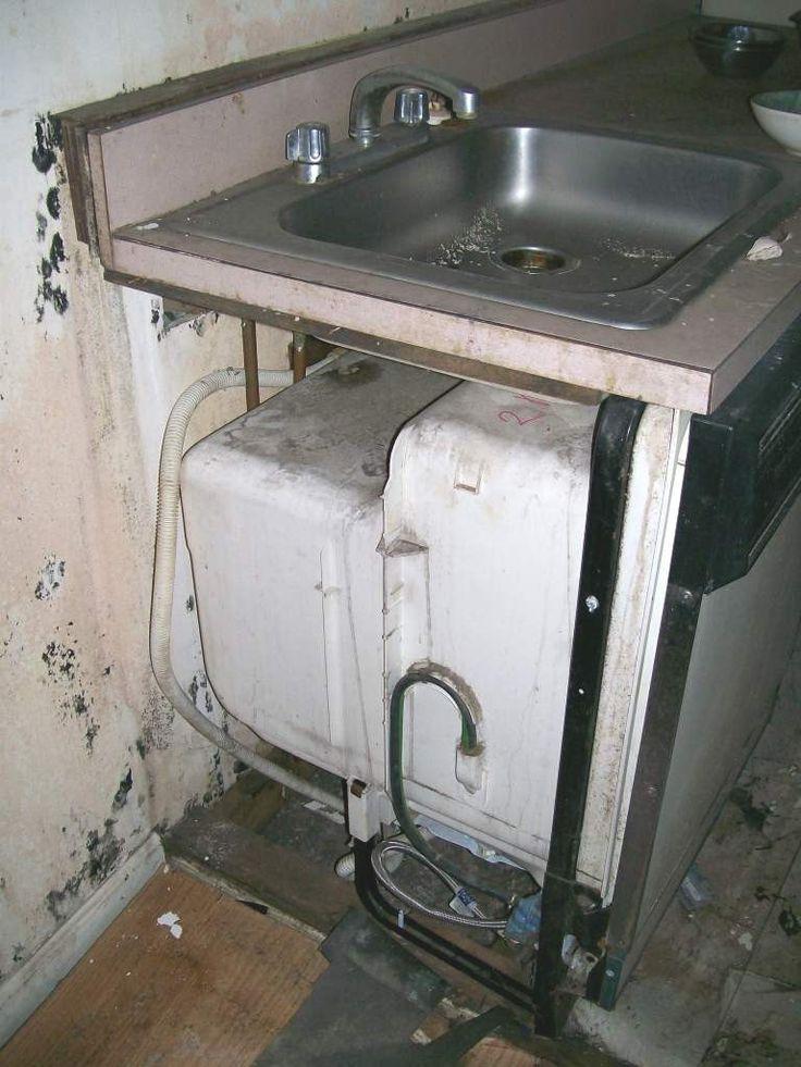 Ge Under The Sink Space Saver Dishwasher Decor Ideas